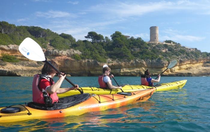 Running kayak