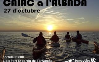 Sortida per veure l'albada amb caiac des de Tarragona
